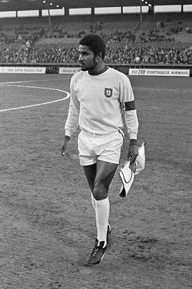 Eusébio, artilheiro da Copa do Mundo de 1966