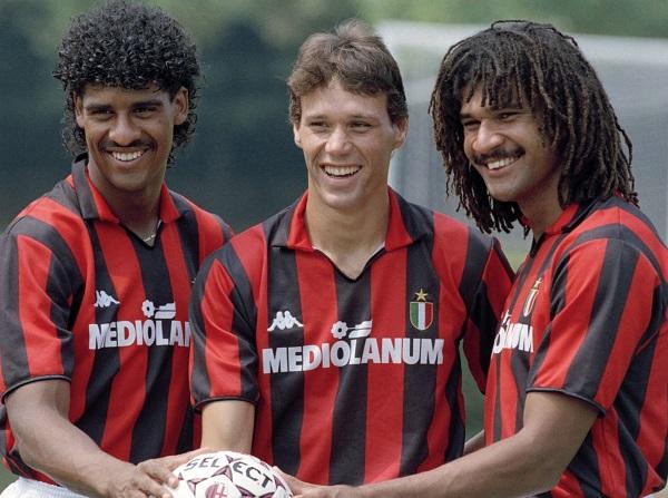 O trio holandês.