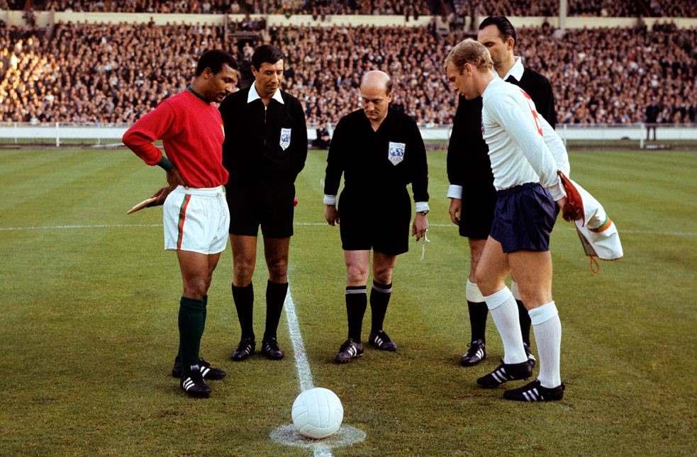 Portugal x Inglaterra. Copa 1966