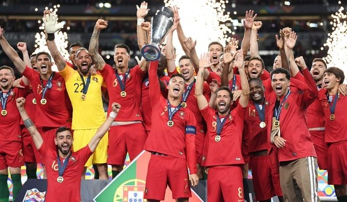Em 2019, Portugal conquistou a primeira Liga das Nações