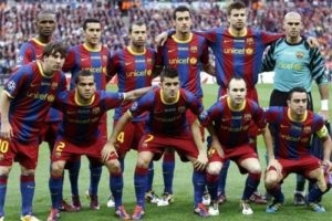 Barcelona em 2011.