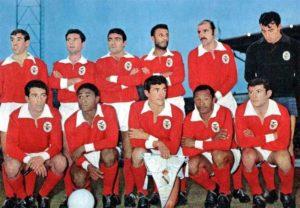 Benfica em 1961.