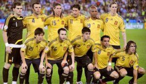 Espanha campeã da Euro 2008.
