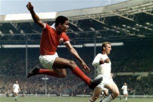 Eusébio na Copa de 1966.