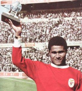 Eusébio foi Bola de Ouro em 1965