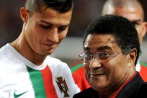 Cristiano Ronaldo e Eusébio.
