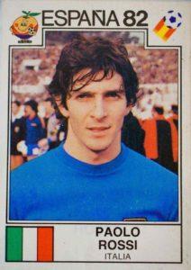Paolo Rossi voltou a seleção italiana.