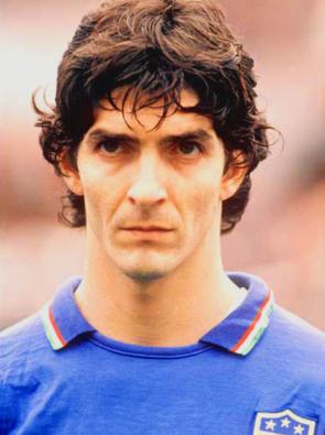 Paolo Rossi é uma lenda do Futebol.