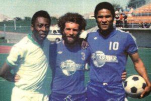 Pelé e Eusébio na MLS.
