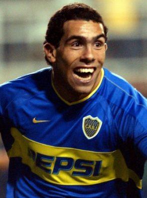 Carlos Tévez é uma Lenda do Futebol.