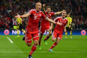 Robben no Bayern de Munique em 2013.
