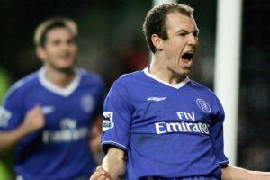 Arjen Robben no Chelsea.