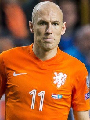 Arjen Robben é uma Lenda do Futebol.