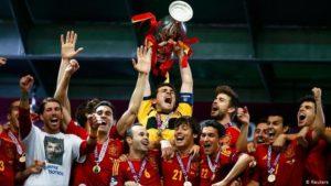 Espanha campeã da Euro-2012.
