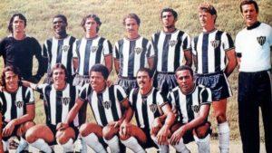 Atlético MG campeão brasileiro em 1971.