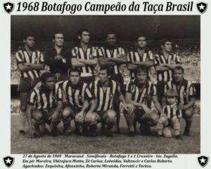 Time campeão da Taça Brasil 1968.