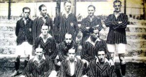 Time do Fluminense nas primeiras décadas.