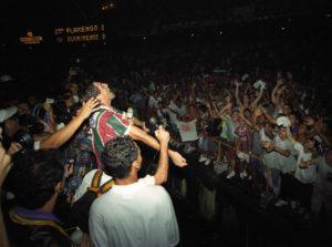 Comemoração do titulo carioca de 1995.
