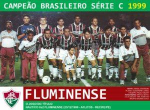 Título da Serie C e subiu direto para a Serie A.