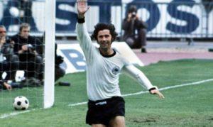 Gerd Muller lenda do futebol alemão