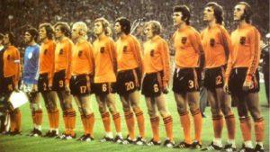 Carrosel Holandes na Copa de 1974.
