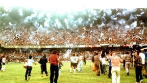 Invasão corinthiana em semi final do Brasileirão 1976.
