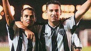 Marques e Guilherme no Atlético MG.