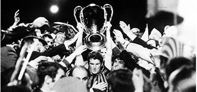 Segundo titulo de Liga dos Campeões do Milan.