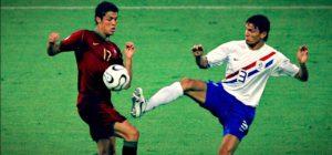Portugal e Holanda tiveram jogo truculento no mundial de 2006.