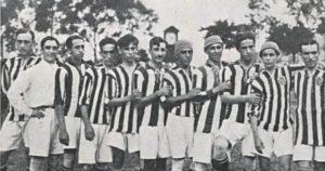 Primeiras decadas do Botafogo antes da fusão.