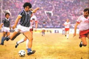 Gol de Renato Gaúcho na final do Mundial 1983.