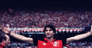 Renato foi muito feliz no Flamengo.