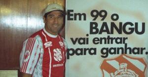 Renato tem passagem rápida no Bangu, antes de se aposentar.