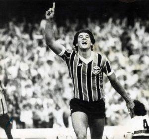 Renato Gaúcho, um dos maiores ídolos do Grêmio.
