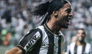 Ronaldinho Gaúcho brilhou no Atlético MG.