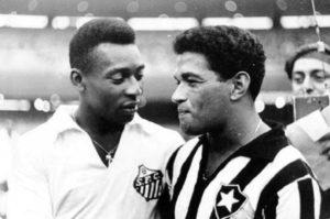 Principais forças de ataque de Santos e Botafogo.