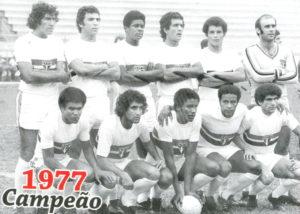 Time do SPFC que conquistou o primeiro Brasilero do clube.