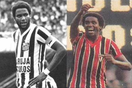 Serginho Chulapa fez história no Santos e no São Paulo