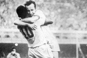 Tostão fez dupla com Pelé