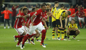 Rivalidade recente: Bayern Munich vs Borussia Dortmund.