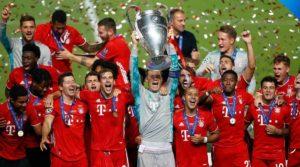 O hexacampeonato de Champions League do Bayern Munich.
