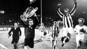 Primeiro titulo da Champions League do Bayern Munich.