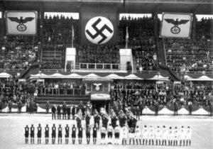 Bayern Munich em um jogo durante o regime nazista.