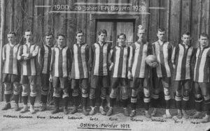 Bayern Munich em sua primeira década.