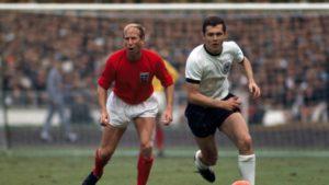 Primeira participação em Copa do Mundo de Franz Beckenbauer.