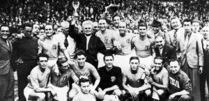 Itália no bicampeonato 1938.