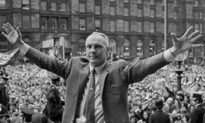 Bill Shankly é um dos maiores técnicos do Liverpool.