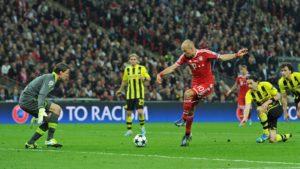 Gol de Robben que deu a 5ª Champions aos bávaros.