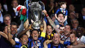 Terceiro título de Champions League da Inter.