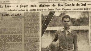 Eurico Lara foi o primeiro grande ídolo do Grêmio.